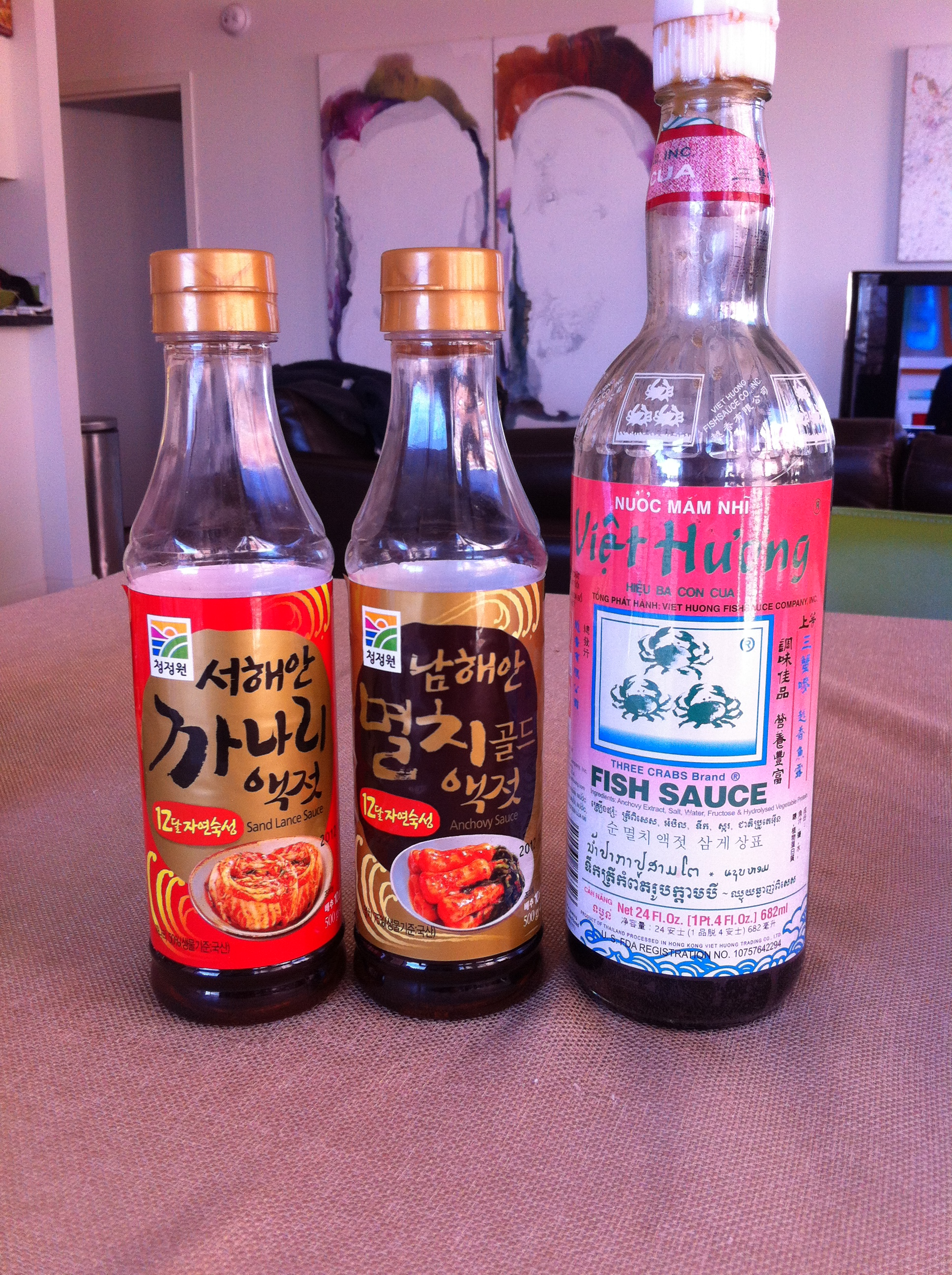 Korean ingredients 101 it s really not that complicated for Viet huong fish sauce