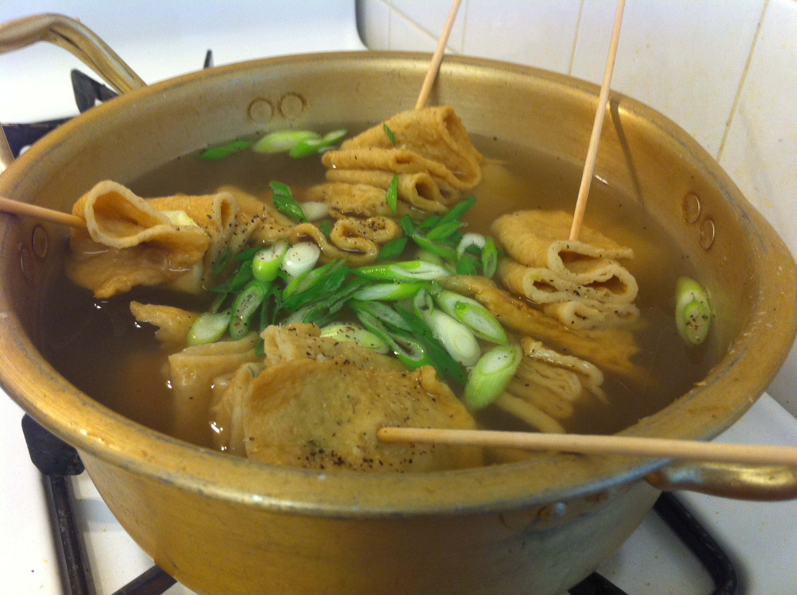 Korean fish cake soup for Korean fish sauce