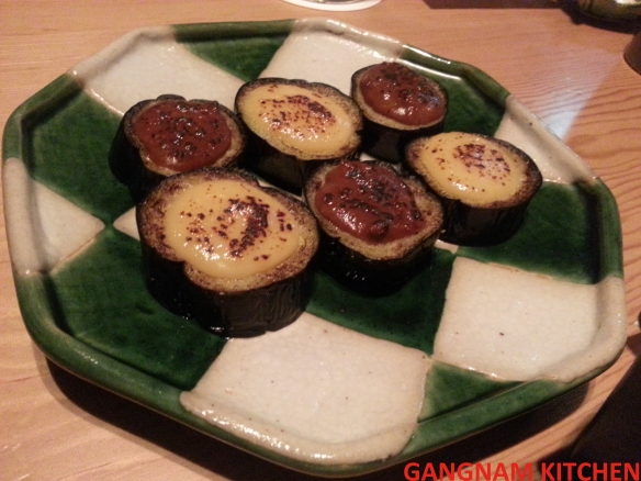 Grilled  Eggplant with Miso Sauce