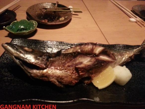 Wood Grilled Mackerel (고등어 구이)